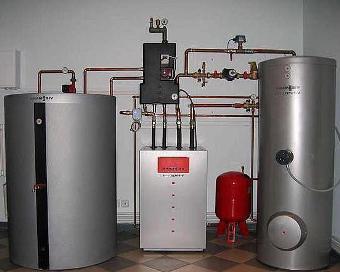 Газовое отопление цена
