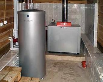 Отопление загородного дома цена