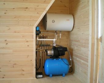 Отопление загородного дома оборудование