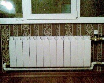 Замена батарей отопления в квартире стоимость