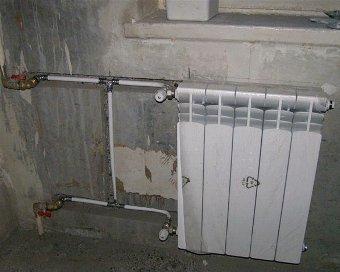 Замена батарей отопления в квартире рабочие
