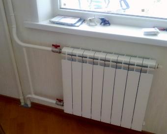 Замена батарей отопления в квартире цена