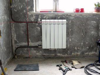 Замена отопительных радиаторов, установленных в квартире